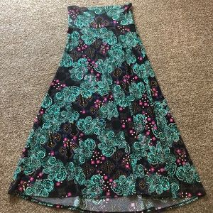 Patterned LuLaRoe Maxi Dress